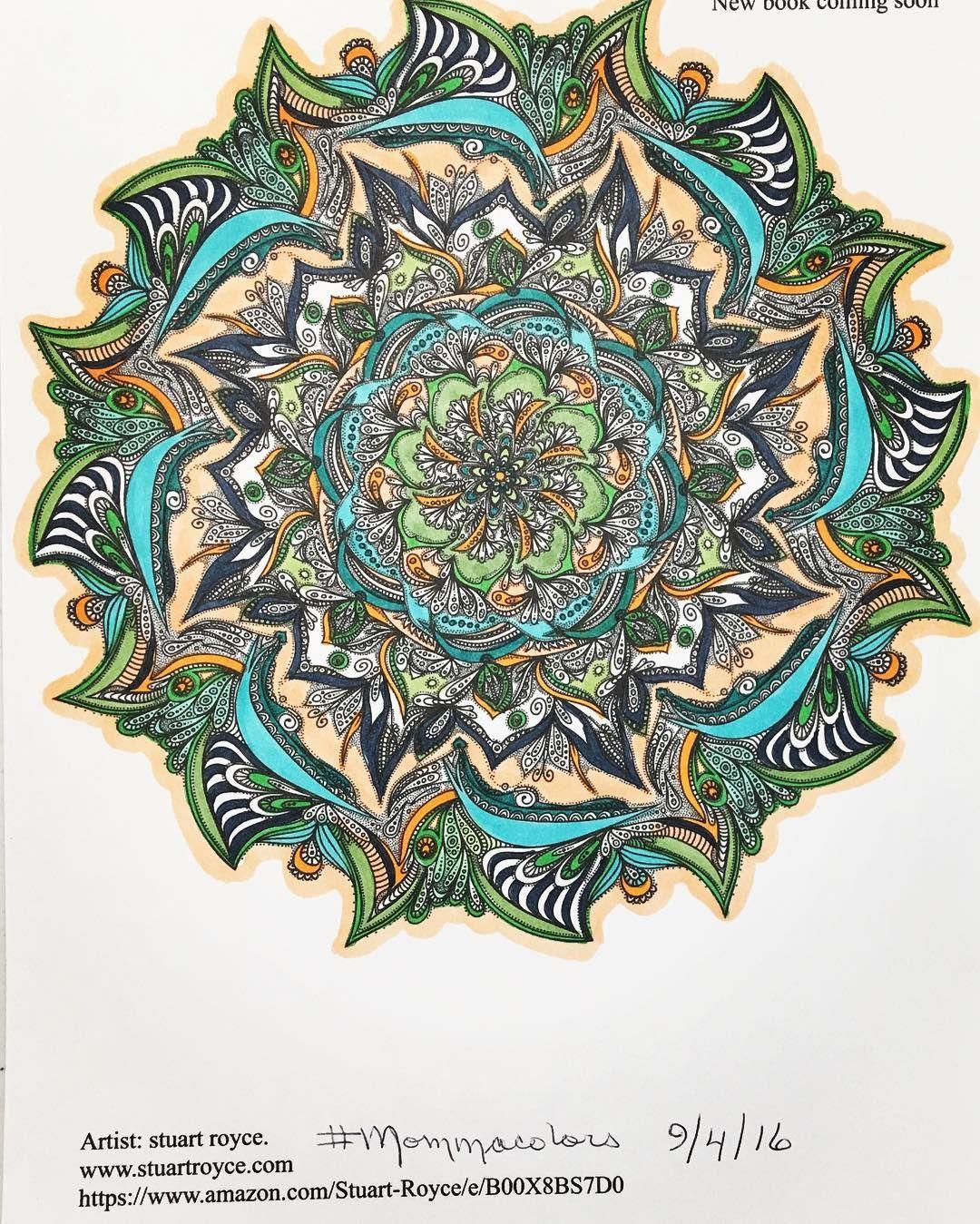 Pin by Bill Holmes on Stuart Royce Mandalas | Royce, Mandala ...
