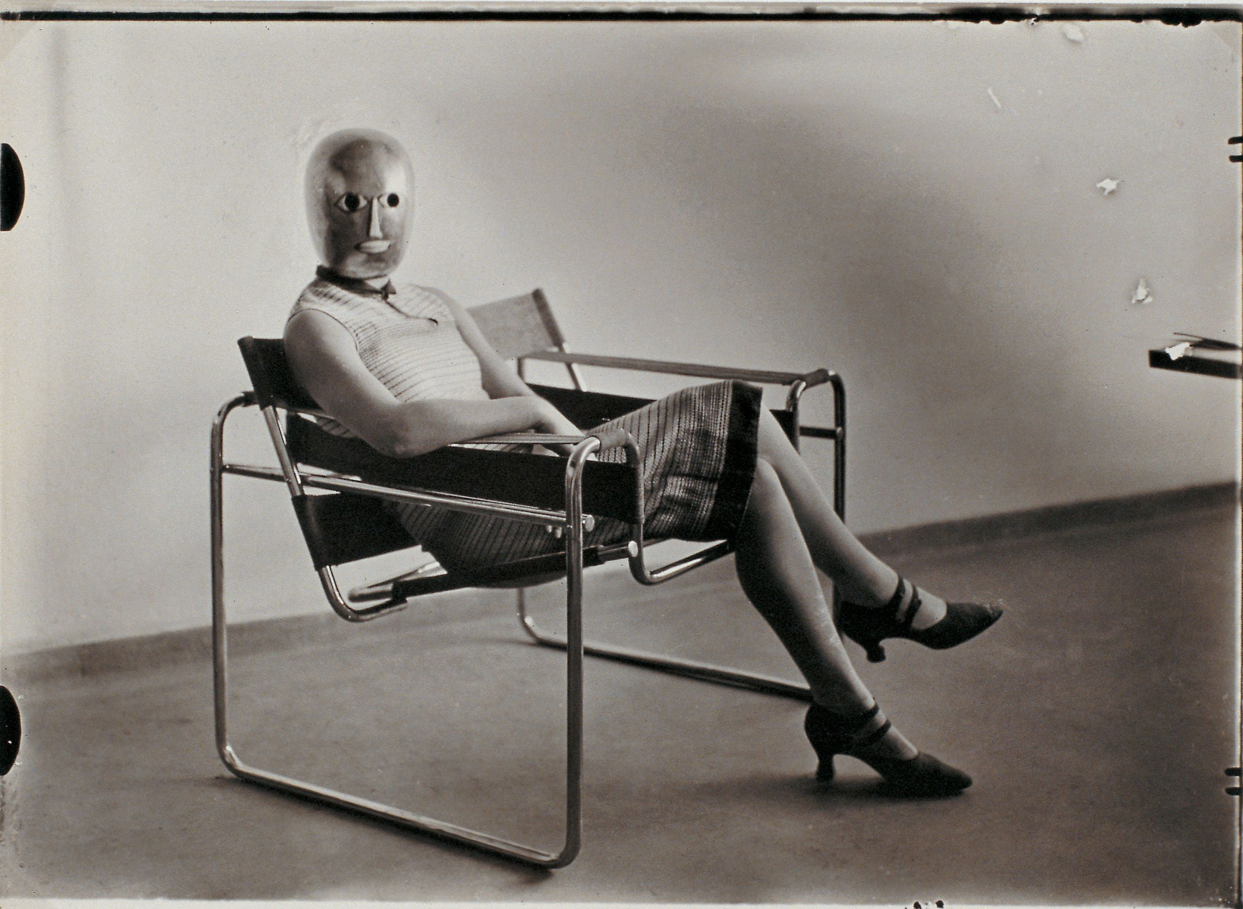 Erich Consemuller Untitled Woman In B3 Club Chair By Marcel