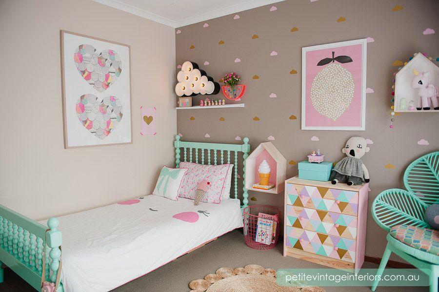 2 Ideas para decorar la habitación infantil (para niña) | Ambientes ...