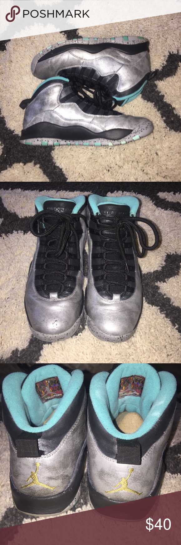 """430cf424adf9d8 Jordan 10 """"Lady Liberty"""" - No Box - Worn - Size 8 in Men s - Dm if you have  any questions Jordan Shoes Sneakers"""