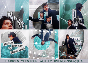 Harry Styles Icon Pack 1 By Divergensea Icon Harry Styles Icons Icon Pack