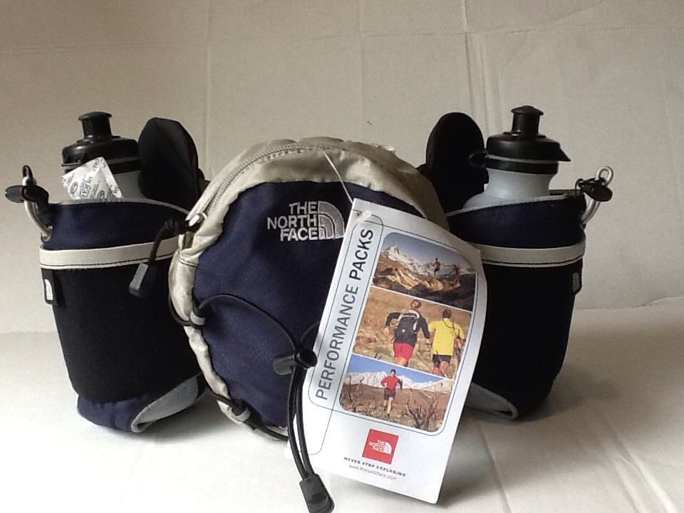 The North Face Liquidator Waist Pack 2 Bottles Water Included