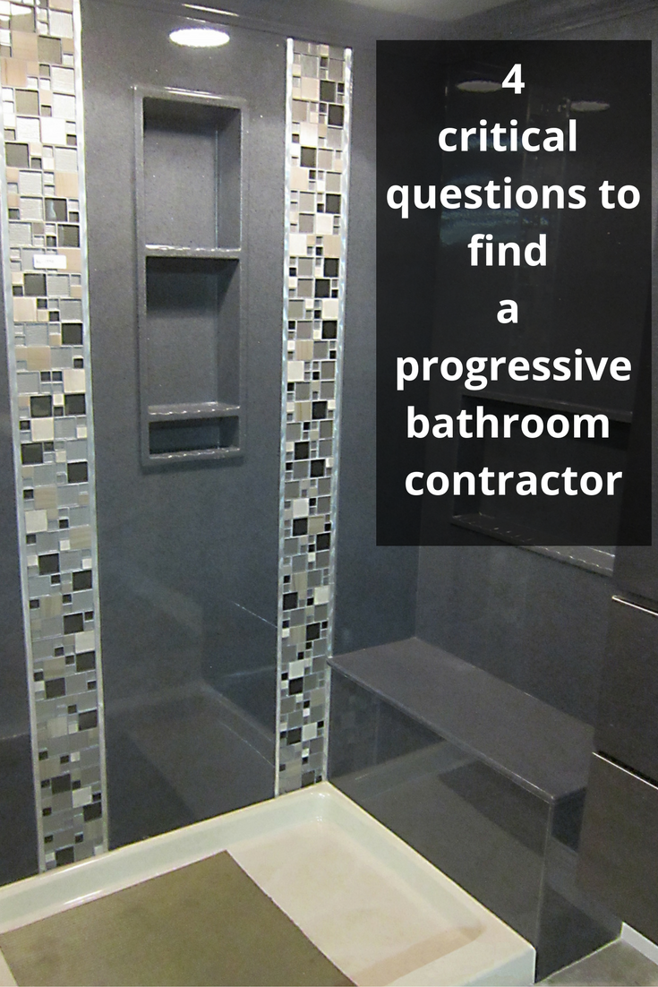 Critical Questions To Find A Progressive Bathroom Remodeling - Questions to ask contractor for bathroom remodel