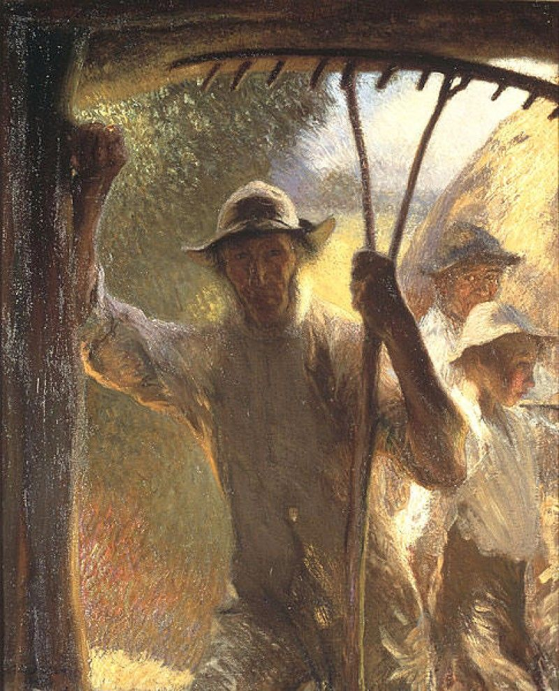 THE HAYMAKER'S, BY GEORGE CLAUSEN
