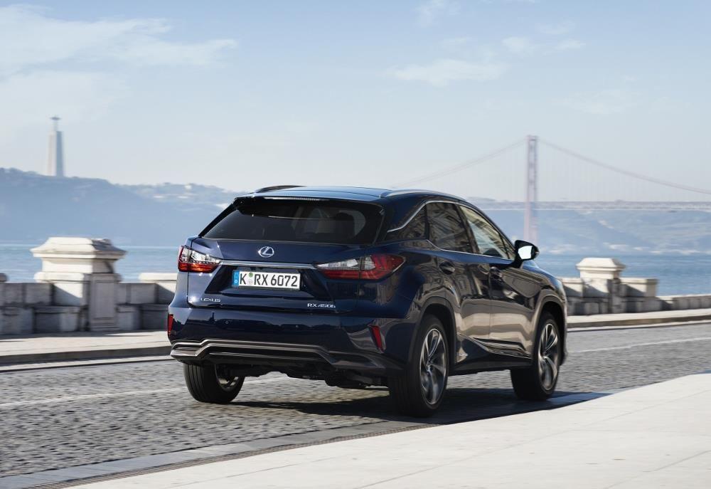 Lexus RX 450h : une version 7 places à l'horizon 2018