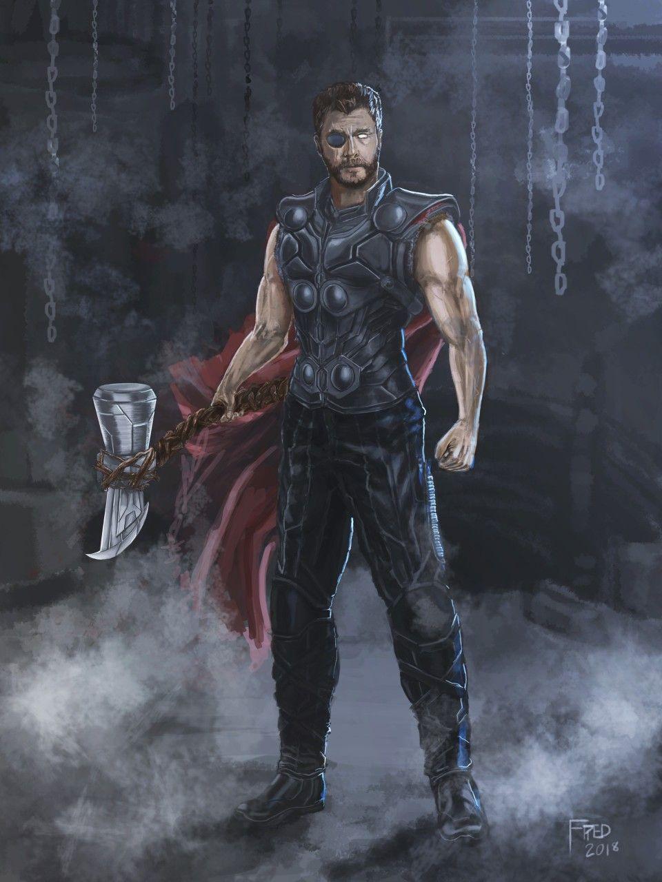 avengers infinity war thor | marvel | pinterest | zeichnungen