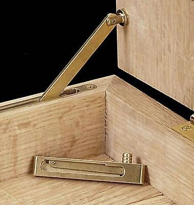 Brass Jewelry Box Lid Support Box Hinges JB250 NIP Hinges