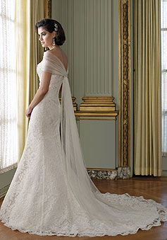 Lace Mermaid Sweetheart Sleeveless With Beads Floor-length Wedding Dress picture 2