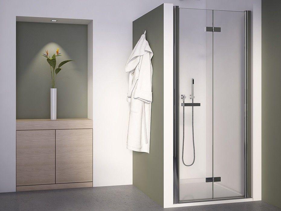 Duschtur Falttur 90 X 195 Cm Dusche Schiebetur Duschabtrennung