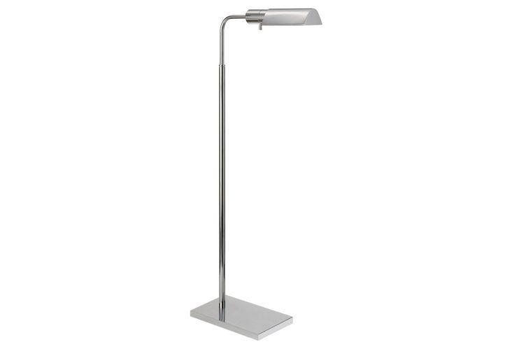 Library adjustable floor lamp nickel floor lamps indoor and outdoor lighting lighting