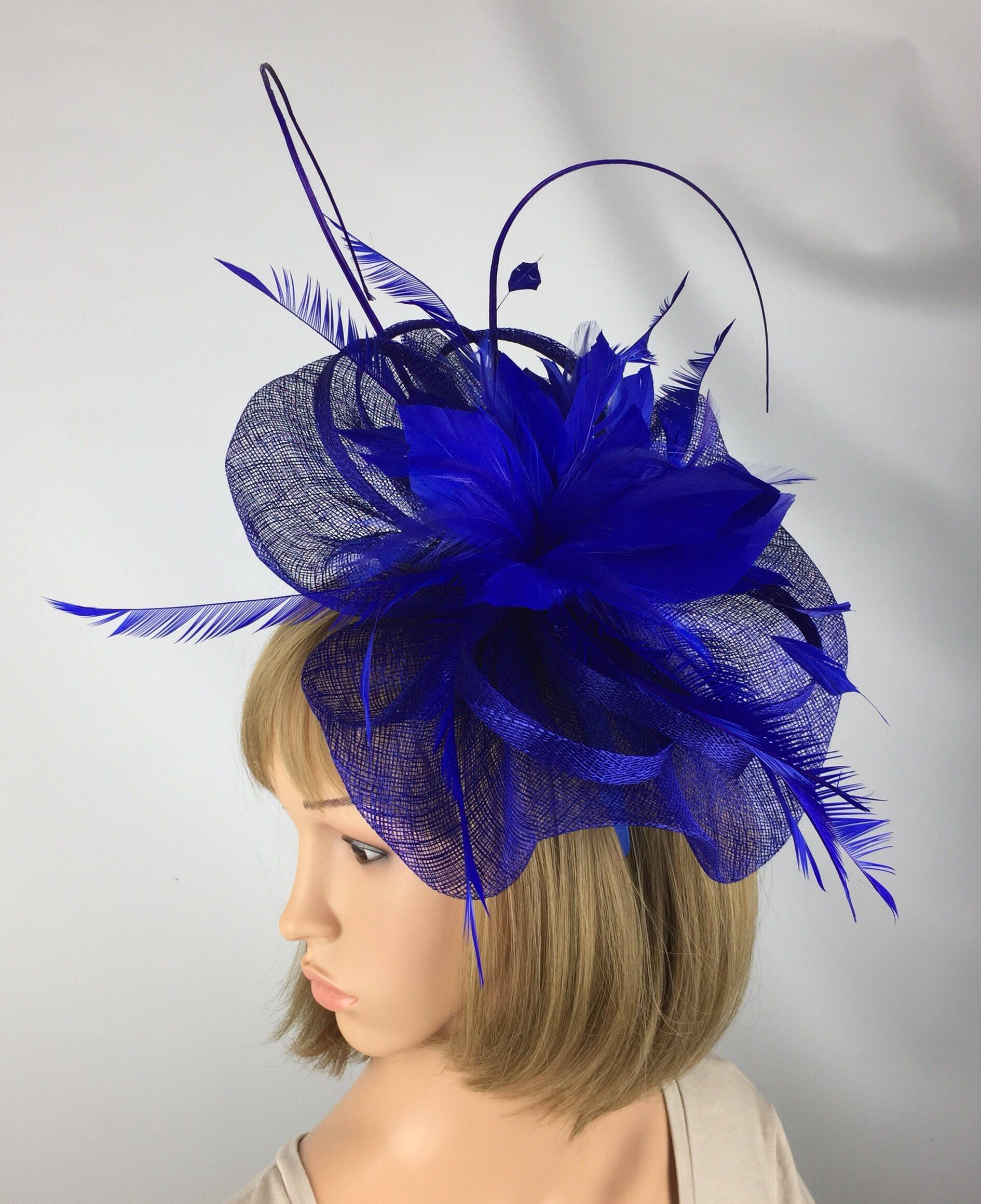 Excited to share the latest addition to my  etsy shop  Royal Blue  Fascinator 7b9073c452e