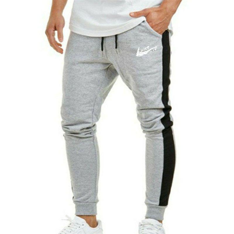 por supuesto harina Decorar  Primavera hombres pantalones moda hombres Pantalones casual Slim Fit hombres  Joggers pantalones de chándal pantal…   Mens tights, Sports trousers,  Sports sweatpants