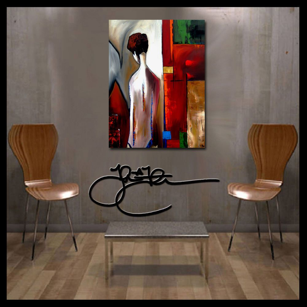 Original Abstract painting Modern Home Decor HUGE Canvas WALL Art by Fidostudio #Abstract