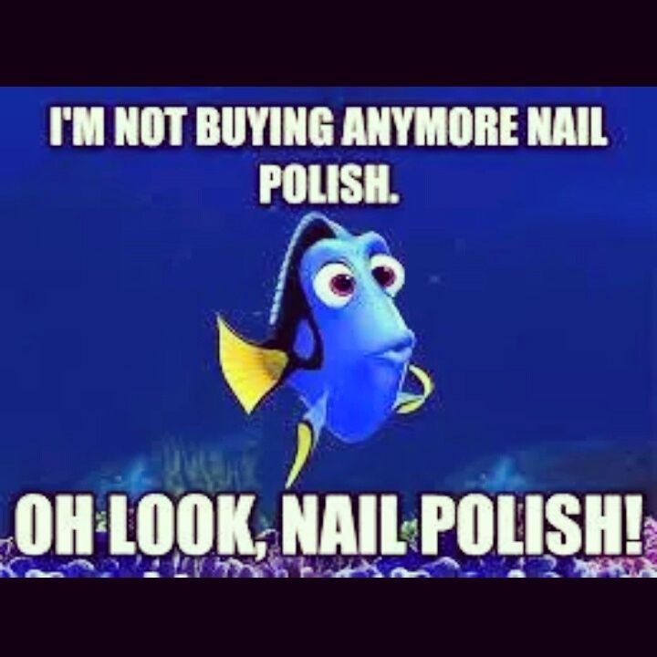 Nail Polish Addict Meme - Creative Touch