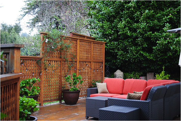 Ordinaire Guest Post: Tips For Creating A Backyard Privacy Screen   Shades Of Blue  Interiors