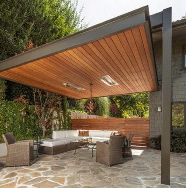 Fotos de quinchos modernos casa bella en 2019 techos for Casa moderna quincho