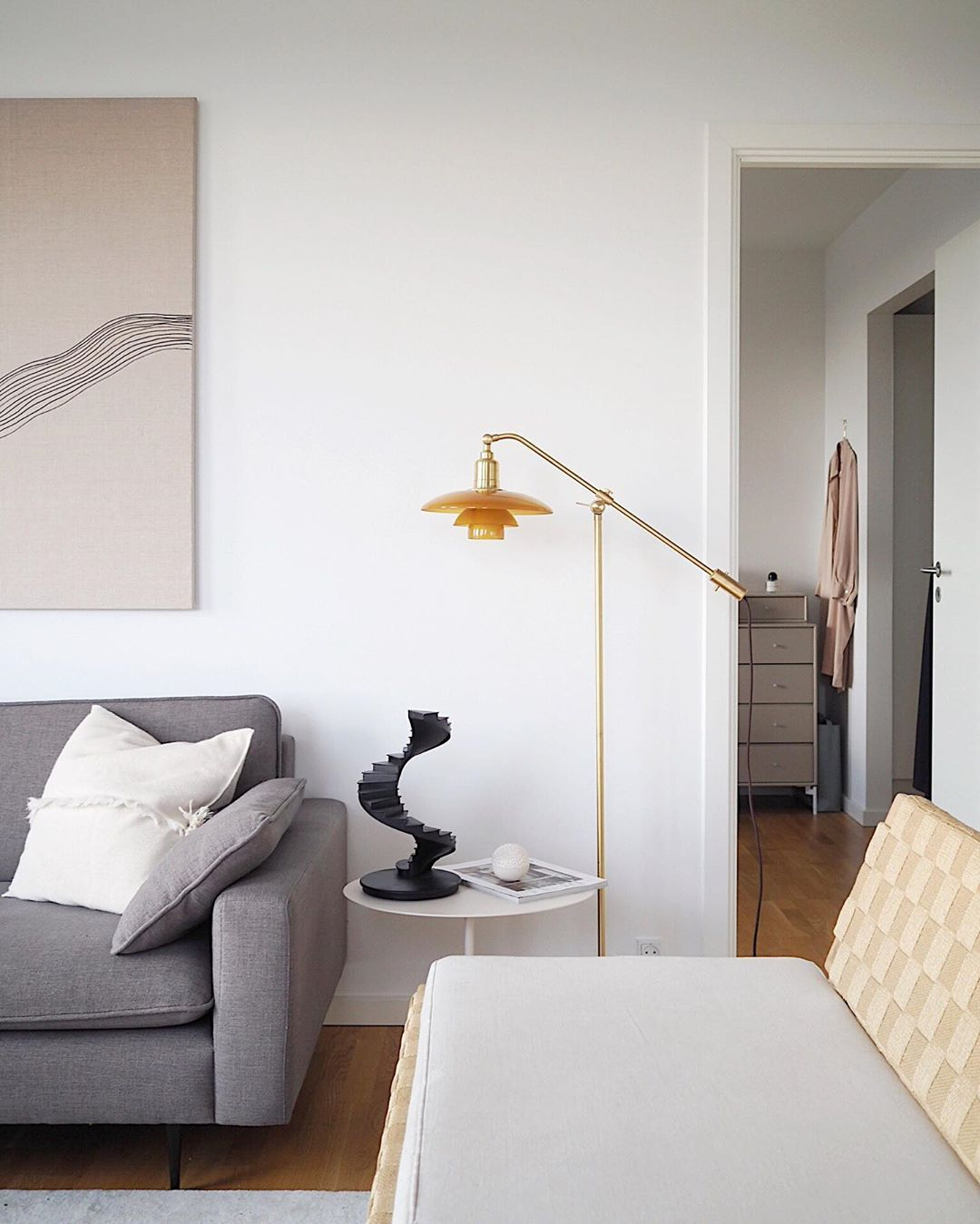 Nothing Beats Coming Home To Your Own Home After A Holiday I Immidiately Sat Down On The Couch And Put My Feet Up I Rea Glass Floor Glass Floor Lamp Interior