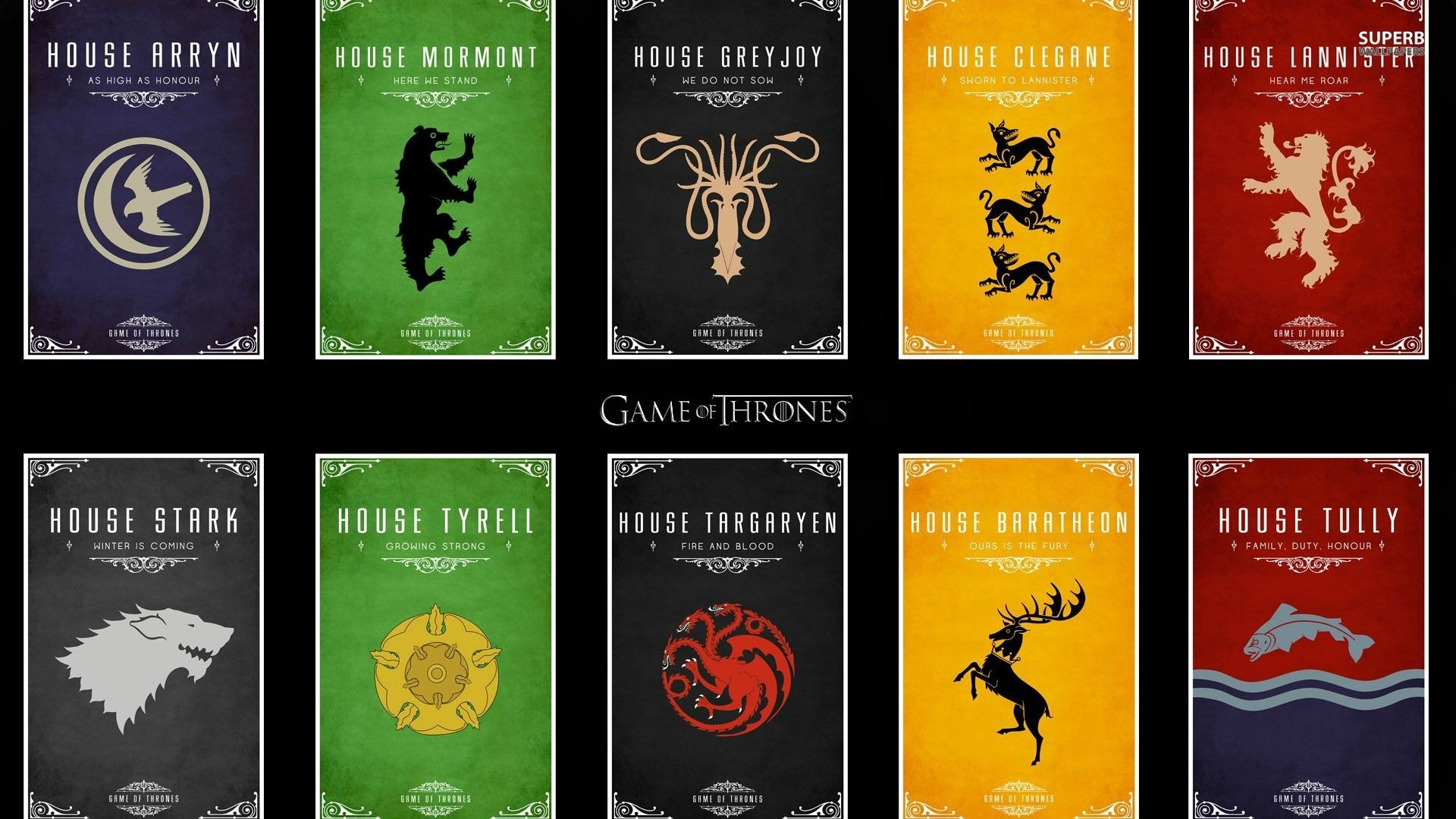 Houses in The Game of Thrones: description, coat of arms, history