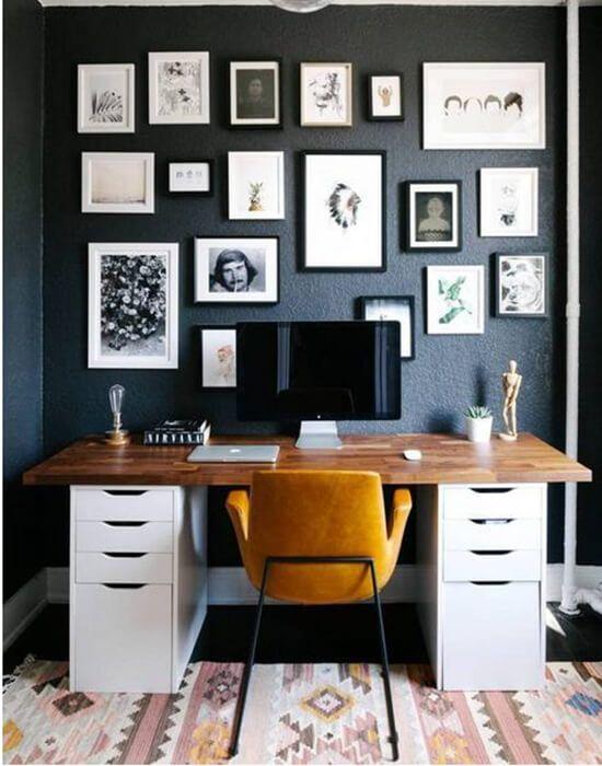 14 idées pour un bureau design et organisé à la maison déco bureau