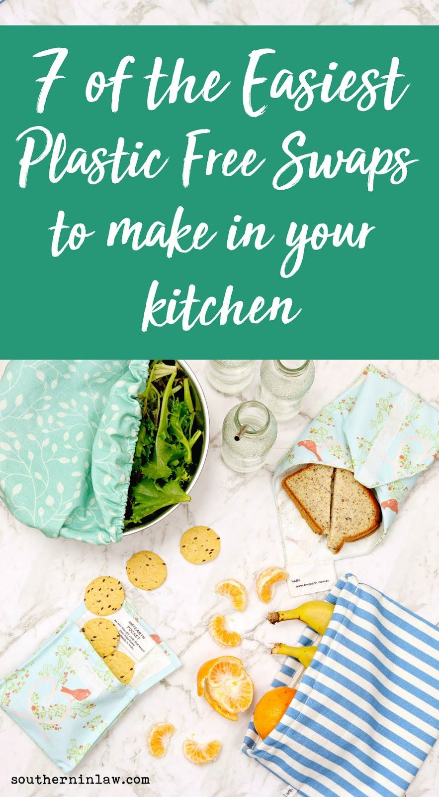 7 Plastic Free Swaps to Make In Your Kitchen | Produce bags, Wraps ...