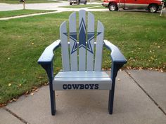 Ordinaire Dallas Cowboys Adirondack Chair