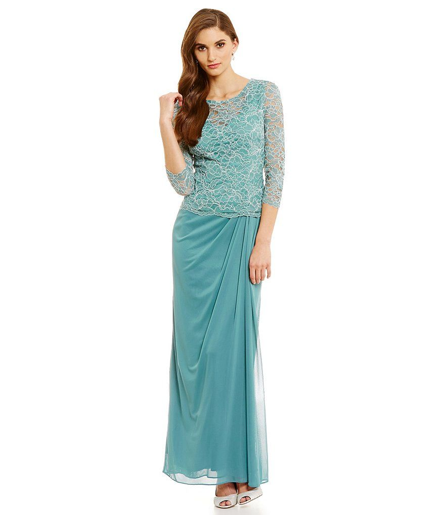 Seafoam Alex Evening Dresses