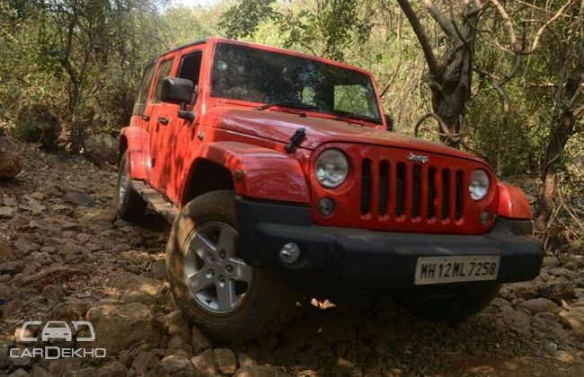 Jeep Wrangler Unlimited Petrol Launched At Rs 56 Lakh Read More