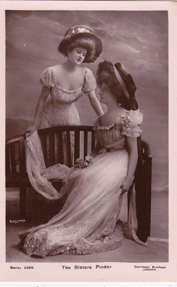 The Sisters Pinder by Bassano...circa 1907