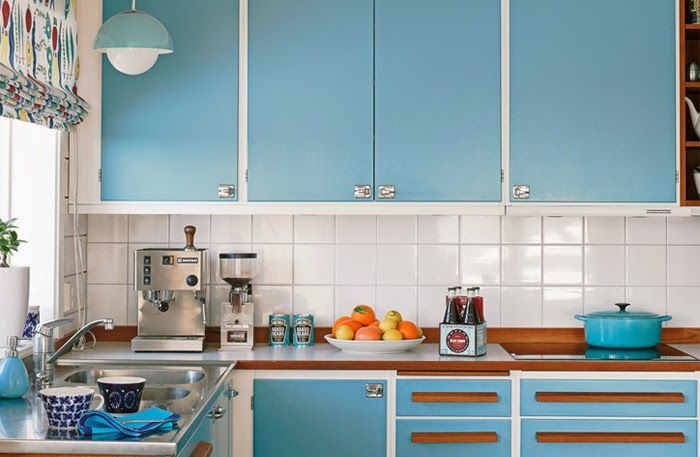 Tips Retro Kleuren : Trendy colors for painting kitchen interior home painting tips