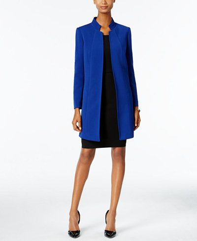657936f3a5f6 Tahari ASL Stand-Collar Topper Jacket | My Style in 2019 | Blazer ...