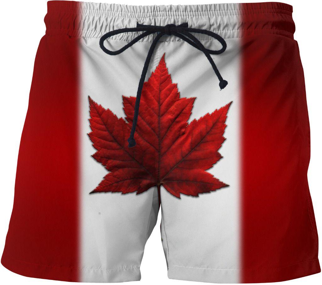 ebbcc57e30 Canada Flag Shorts Canadian Souvenir Swim Trunks #swim #swimwear #swimsuit  #bikini #bathingsuit #beach