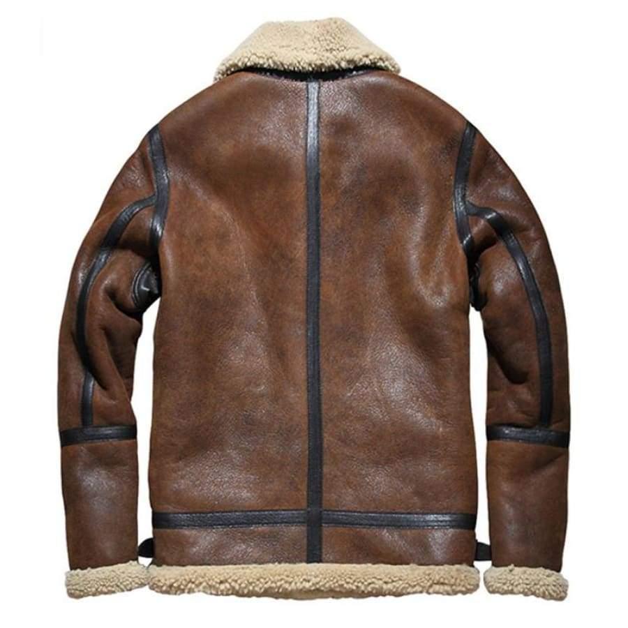 Slim Shearling Jacket | Bombardier en 2019