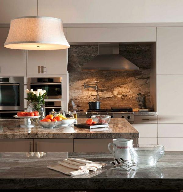 Tolle Küche tolle küche fliesenspiegel tisch leuchter idee fliesenspiegel