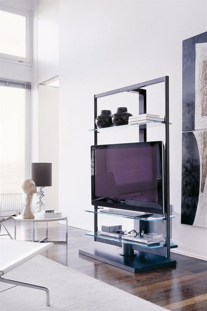 Modern Wood Tv Stand Showcase Design: Muebles Para Tv Modernos, Diseño De Muebles