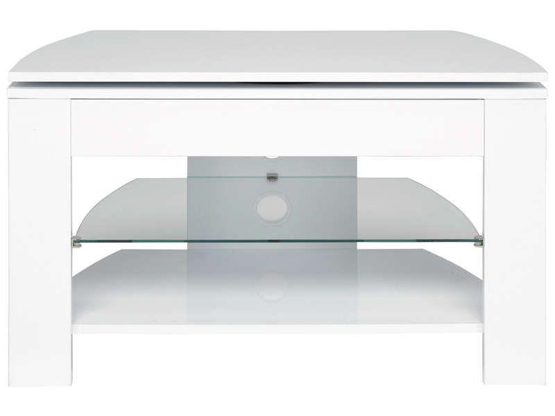 Meuble D Angle Laque Blanc Nouveau Meuble Tv Passo 4 Coloris Blanc Chez Conforama Banc Bout De Lit Banc Bout En 2020 Meuble D Angle Meuble Tv Roulette Pour Meuble
