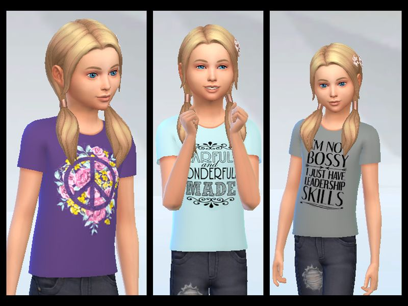 Puma outfit for toddler girls. Found in TSR Category Sims