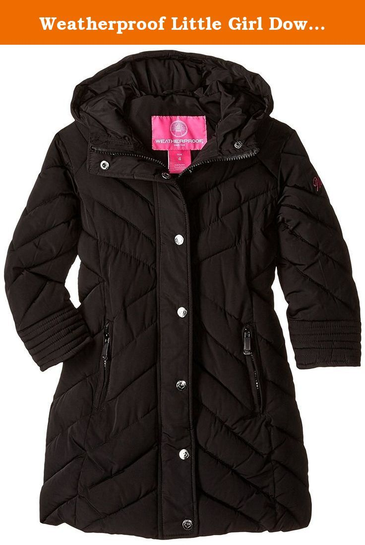 Long Puffer Fuchsia More Styles Available Weatherproof Girls Big Fashion Outerwear Jacket 14//16