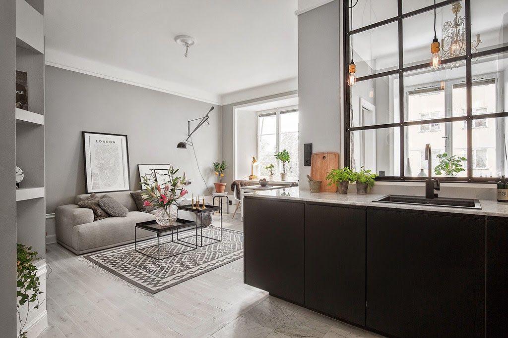No es la primera vez que escribo un post sobre apartamentos pequeños