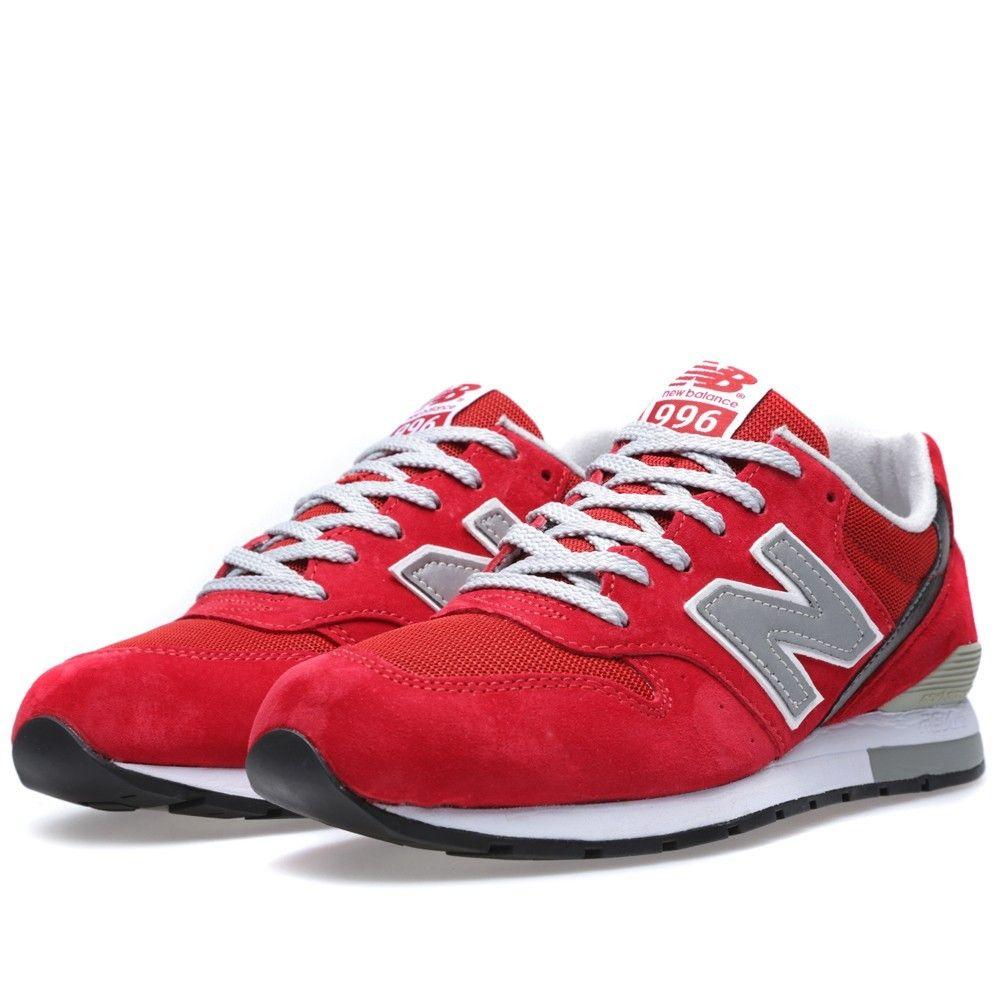 CQ1C New Balance (NB) MRL996AR Heren Rood Grijs Sneakers ...