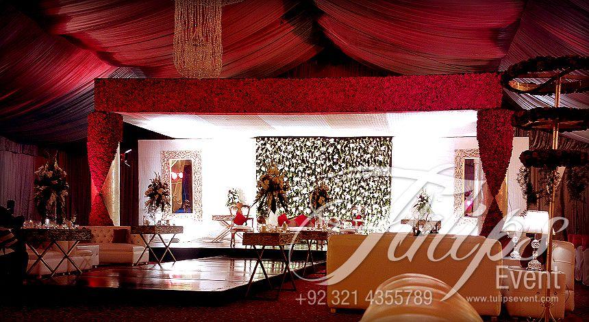 Best Pakistani Wedding Reception Baraat Stage Design