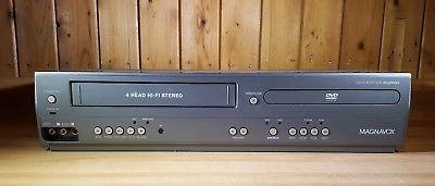 Magnavox VHS VCR, DVD Player Combo DV225MG9 4 Head Hi-Fi