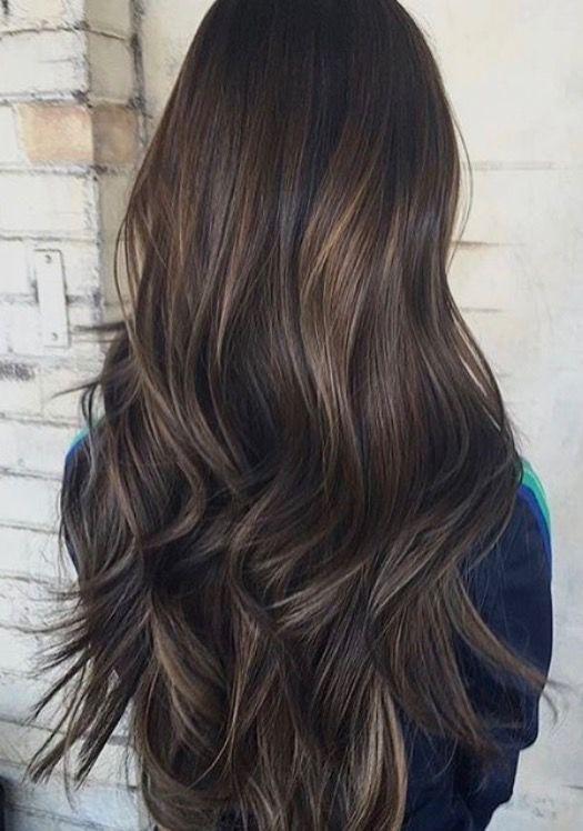 Subtle Brunette Bayalage Balayage Hair Hair Styles Hair Color Ideas For Brunettes Balayage