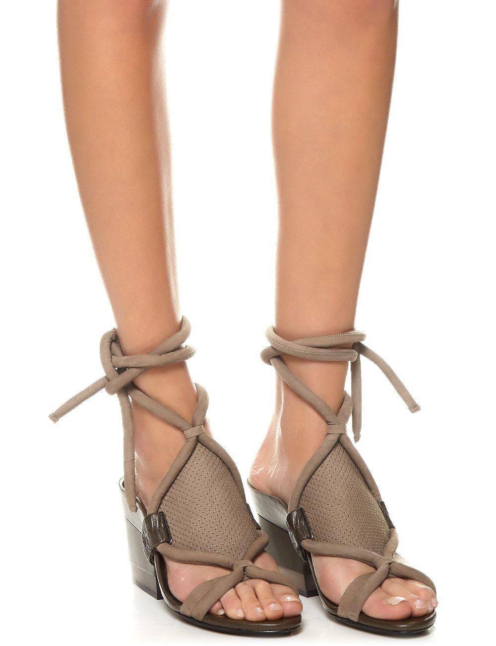 Clay Wren Nubuck Marquise Sandals | 3.1 Phillip Lim | Avenue32