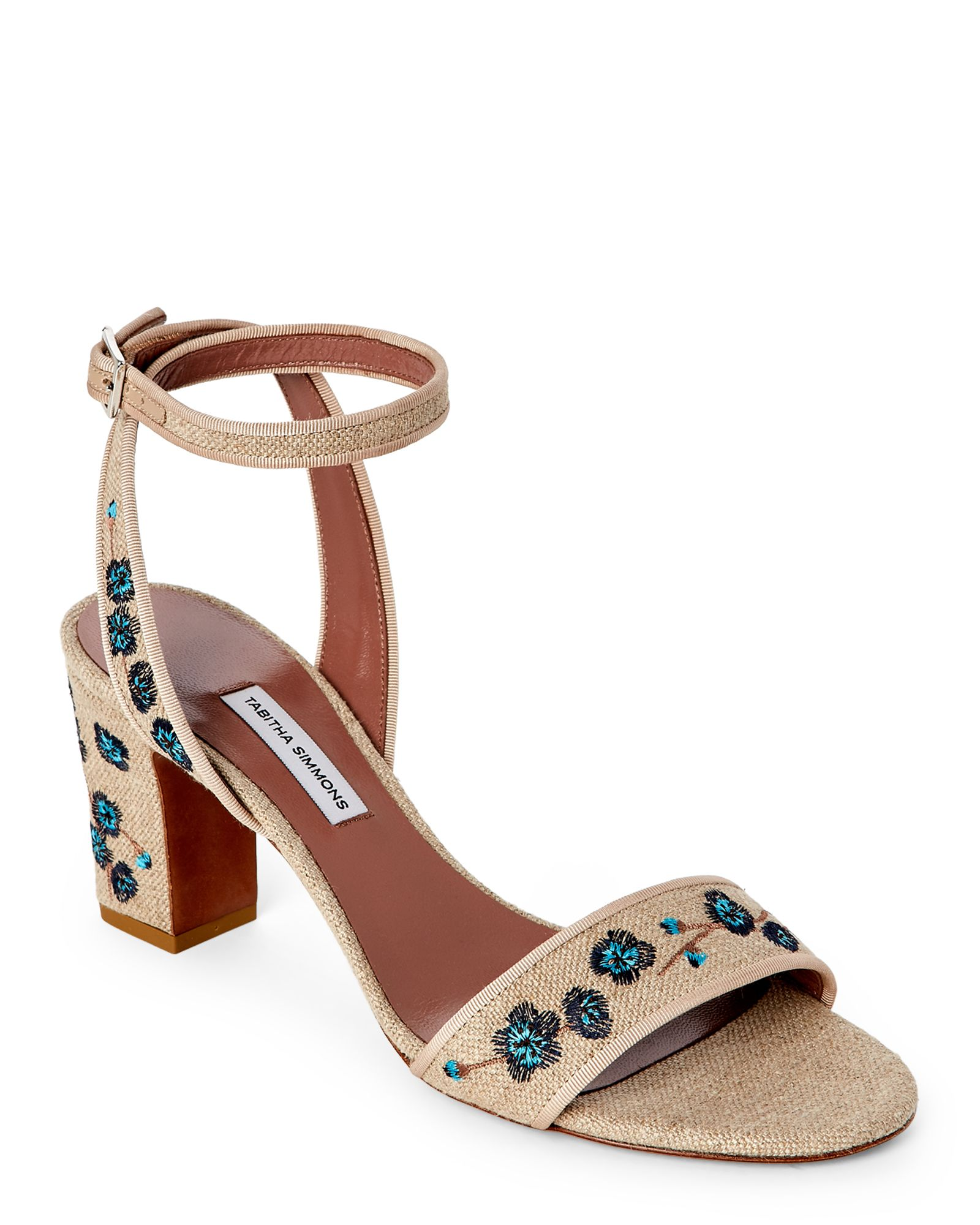 91727334970 Tabitha Simmons Natural   Marine Floral-Embroidery Block Heel Sandals