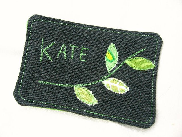 Quilted name tag | Quilted Name Tags | Pinterest | Badges, Quilt ... : quilting name tags - Adamdwight.com