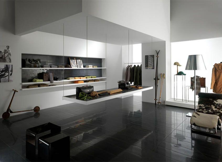 Dark Floors Living Room Tiles Dark Living Rooms Room Tiles