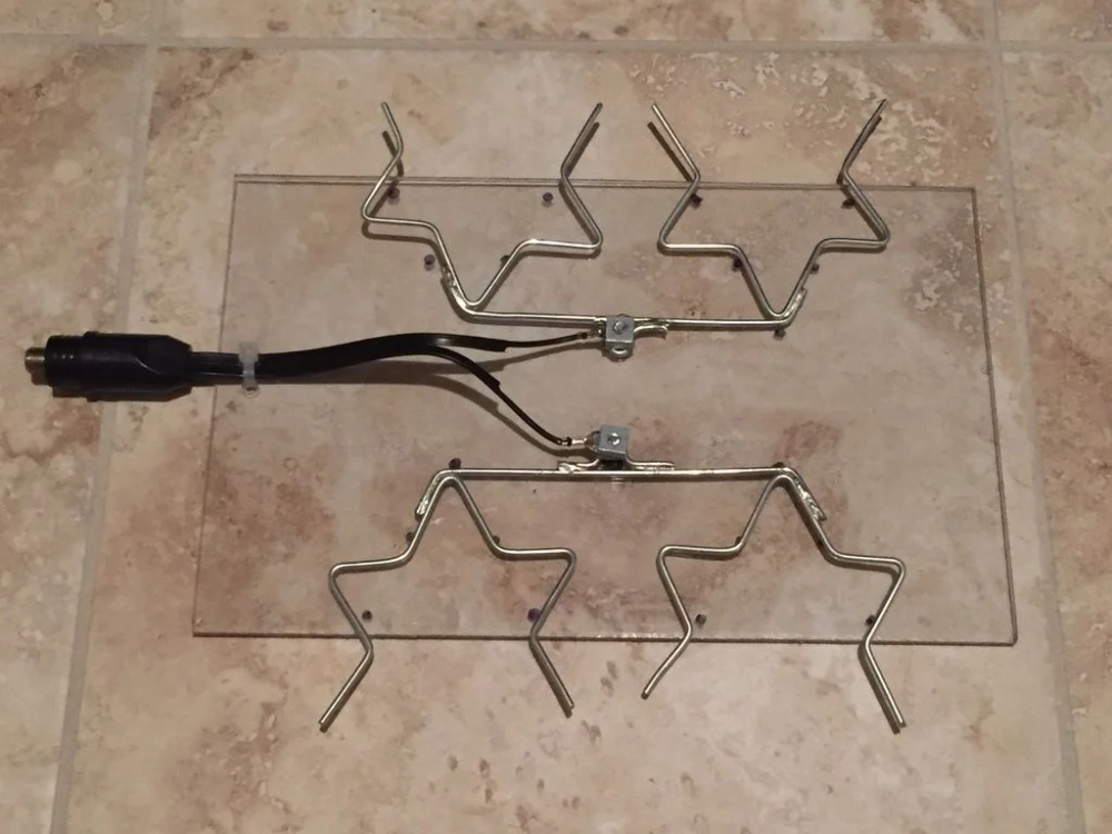 How to Make a Fractal Antenna for HDTV / DTV Plus More on