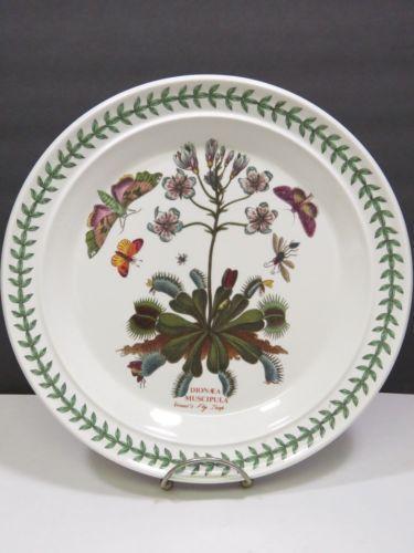Portmeirion The Botanic Garden Dinner Plate 10 5 034 Venus Fly