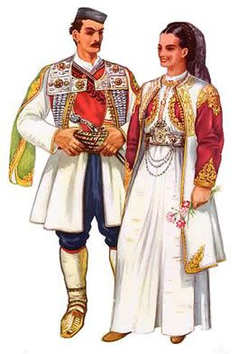Montenegro (Cetinje region, original Montenegrin capital for centuries)    PS: : Eastern Hercegovina tends to have almost identical costume.