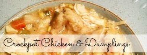 The Best Crock Pot Chicken and Dumplings Recipe   Budget Savvy Diva #paleoforbeginners #chickendumplingscrockpot The Best Crock Pot Chicken and Dumplings Recipe   Budget Savvy Diva #paleoforbeginners #chickendumplingscrockpot